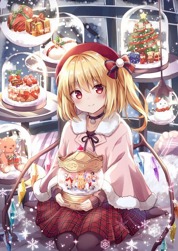 【イブだから】クリスマスケーキと女の子の二次画像【11】