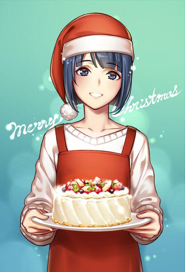 【イブだから】クリスマスケーキと女の子の二次画像【12】