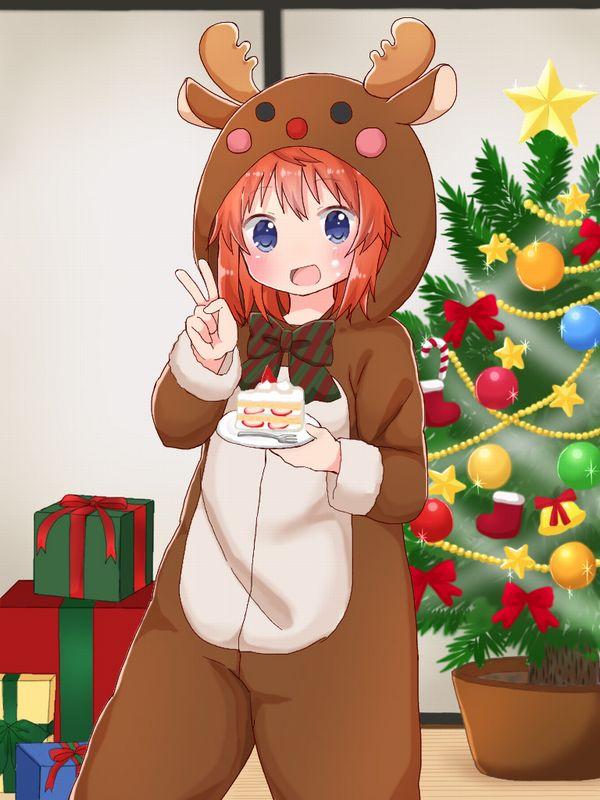 【イブだから】クリスマスケーキと女の子の二次画像【13】