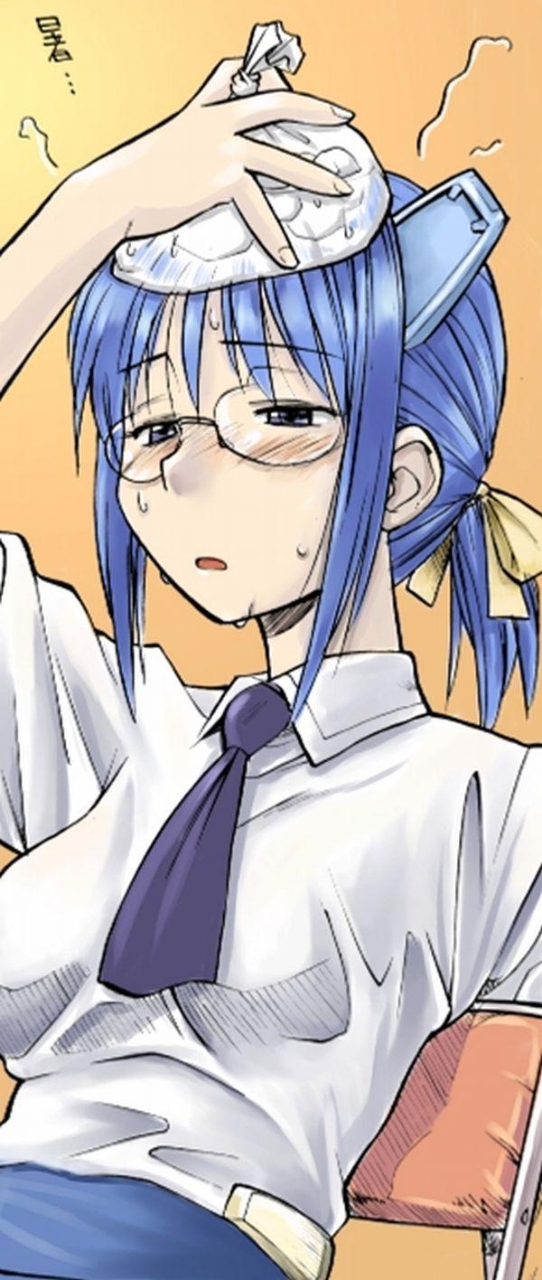 【インフル】高熱で汗だくなぐったり女子達の二次エロ画像【5】