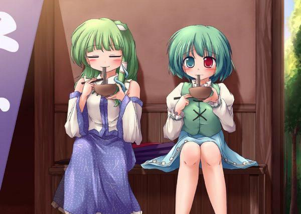 【大晦日】年越しそばを食べてる女の子達の二次画像【13】