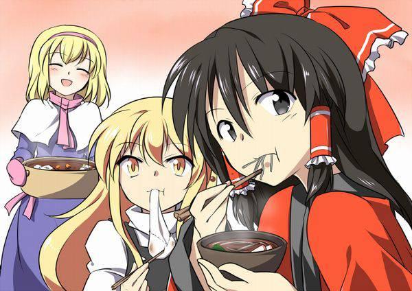 【大晦日】年越しそばを食べてる女の子達の二次画像【22】