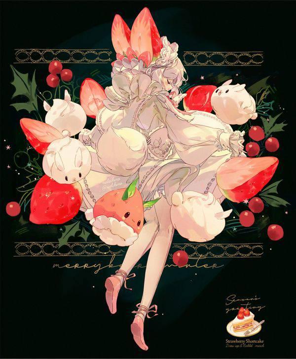 【市場イチのべっぴん】いちごと美少女の二次画像【12】