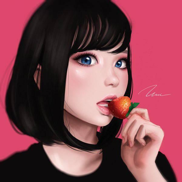 【市場イチのべっぴん】いちごと美少女の二次画像【38】