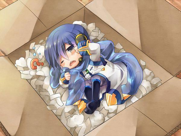 【誘拐かな?】箱詰めされてる女の子達の二次エロ画像【18】