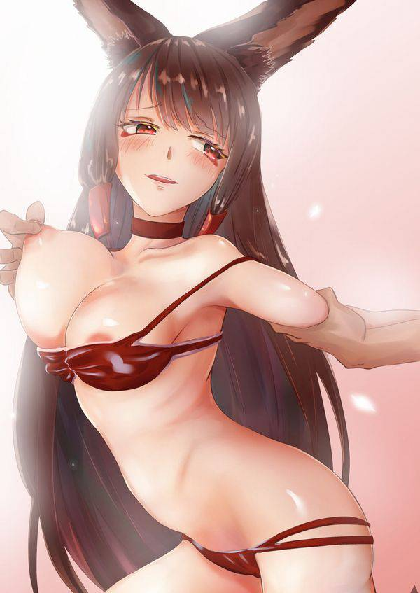 【伸びそう】乳首引っ張られてる女の子達の二次エロ画像【38】
