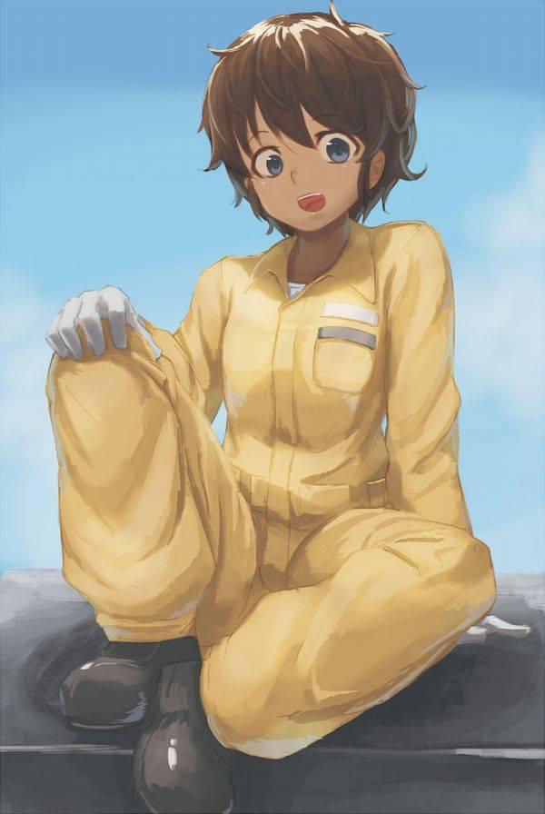 【ガルパン】スズキ・ホシノ・ツチヤのエロ画像【ガールズ&パンツァー】【9】