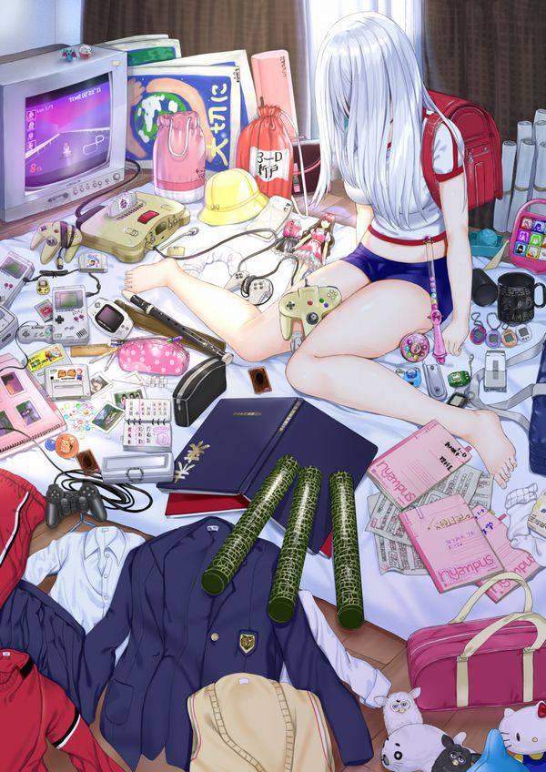 【オタ部屋】自室で過ごす腐女子の二次画像【6】