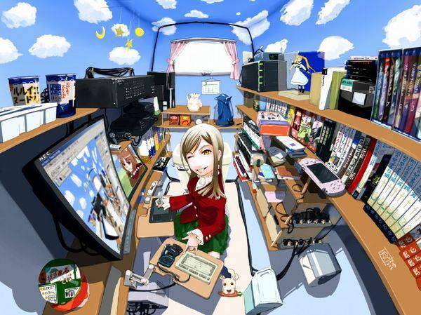 【オタ部屋】自室で過ごす腐女子の二次画像【21】