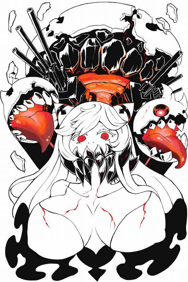 【艦これ】中間棲姫(ちゅうかんせいき)のエロ画像【艦隊これくしょん】【30】