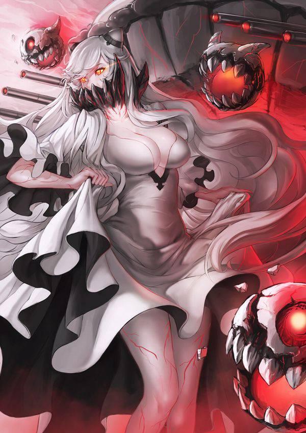 【艦これ】中間棲姫(ちゅうかんせいき)のエロ画像【艦隊これくしょん】【39】