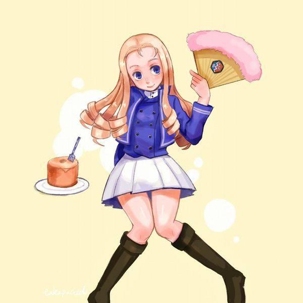 【ガルパン】マリーのエロ画像【ガールズ&パンツァー】【23】
