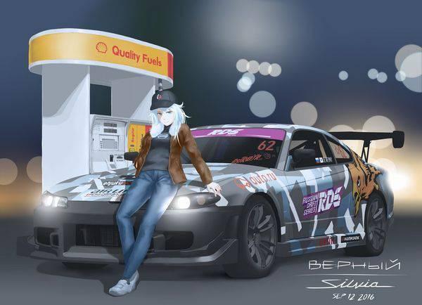 【渋谷ハロウィンの思い出】車のボンネットに座る女子達の二次画像【29】