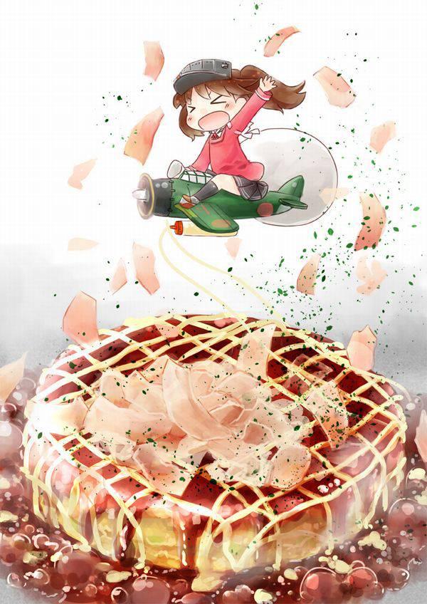 【大阪】お好み焼きと女子の二次画像【広島】【34】