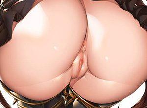 【二次】お尻のエロ画像