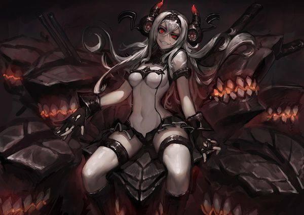 【艦これ】防空棲姫(ぼうくうせいき)のエロ画像【艦隊これくしょん】【7】