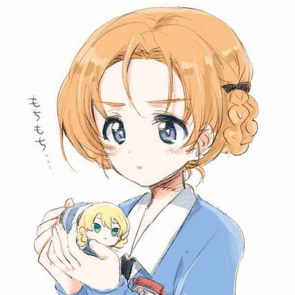 【ガルパン】オレンジペコのエロ画像【ガールズ&パンツァー】【24】