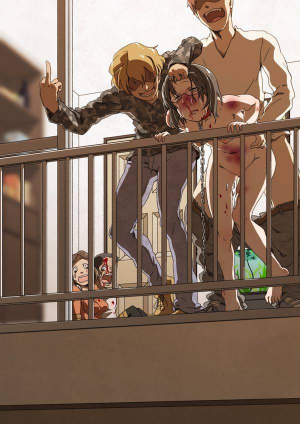 【スタンディングレイプ】立ったまま強姦されてる二次エロ画像【2】