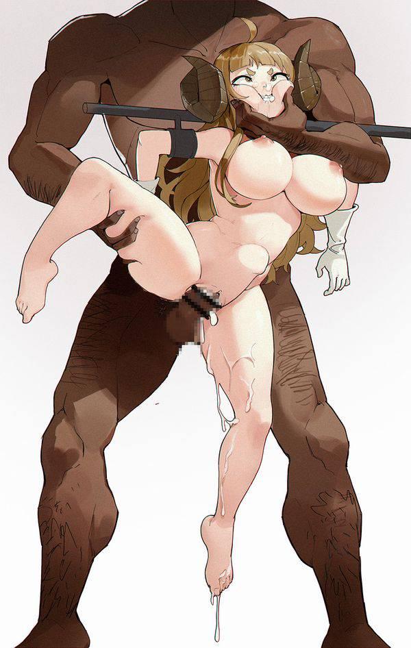 【スタンディングレイプ】立ったまま強姦されてる二次エロ画像【4】