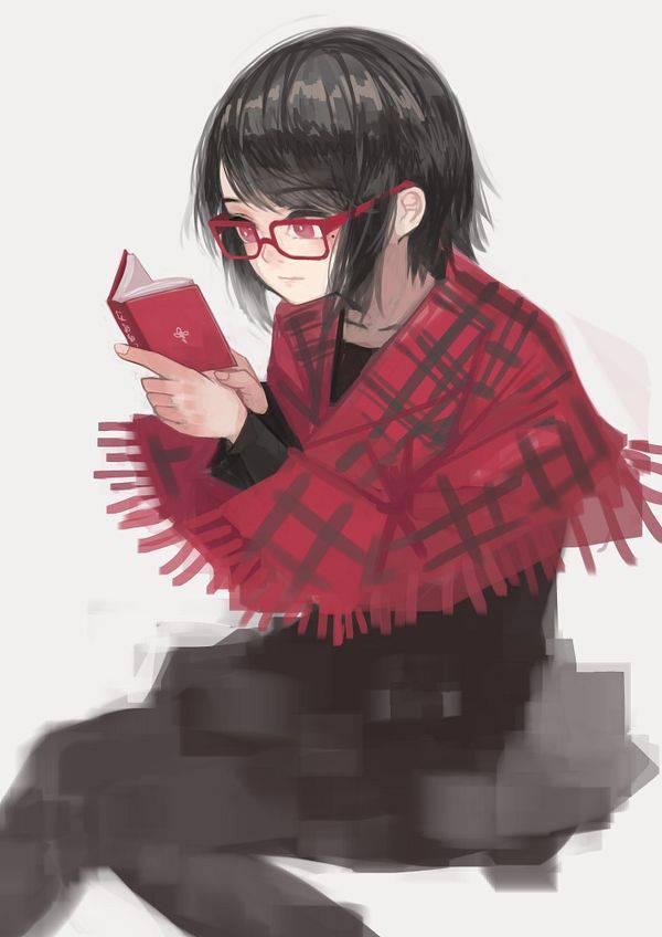 【何読んでるの?】読書を嗜む文学美少女達の二次画像【10】