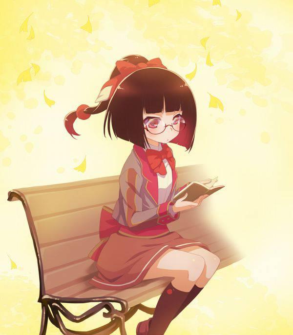 【何読んでるの?】読書を嗜む文学美少女達の二次画像【14】