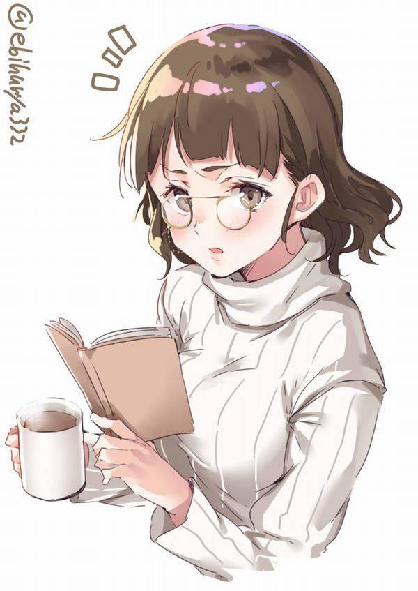 【何読んでるの?】読書を嗜む文学美少女達の二次画像【24】