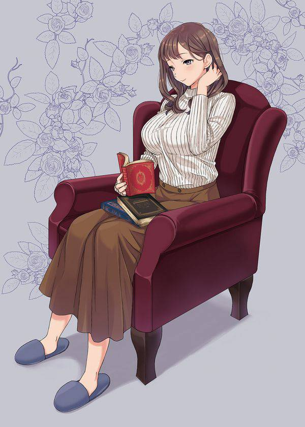 【何読んでるの?】読書を嗜む文学美少女達の二次画像【28】