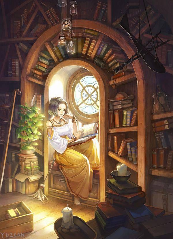 【何読んでるの?】読書を嗜む文学美少女達の二次画像【30】