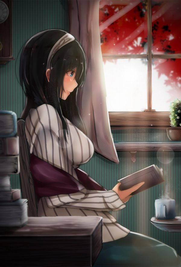 【何読んでるの?】読書を嗜む文学美少女達の二次画像【33】