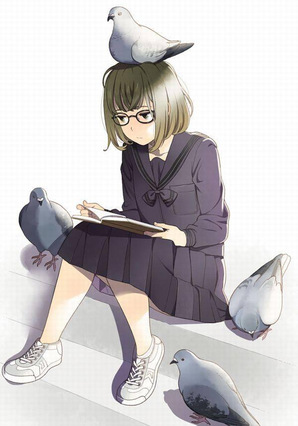 【何読んでるの?】読書を嗜む文学美少女達の二次画像【35】