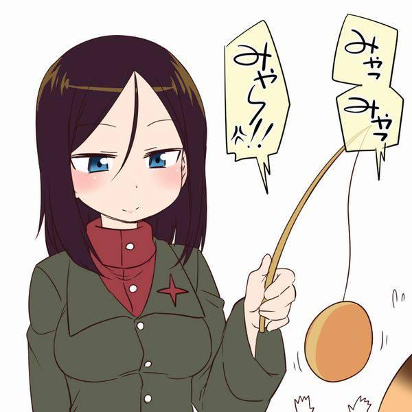 【ガルパン】ノンナのエロ画像【ガールズ&パンツァー】【47】