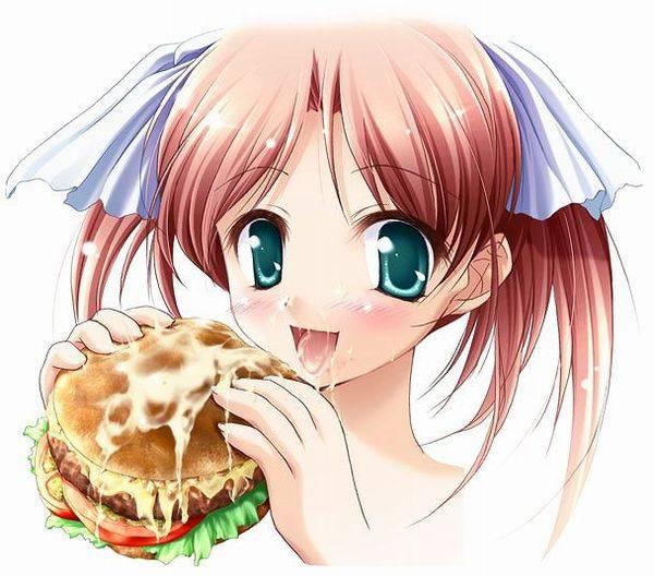 【食ザー】ザーメンぶっかけられた食べ物を当たり前のように食す女子達の二次エロ画像【32】