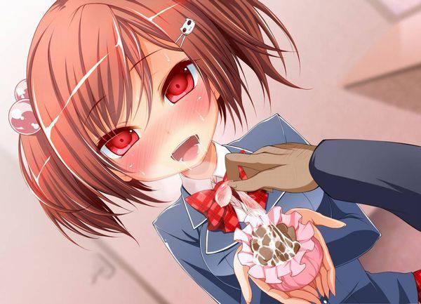【食ザー】ザーメンぶっかけられた食べ物を当たり前のように食す女子達の二次エロ画像【35】