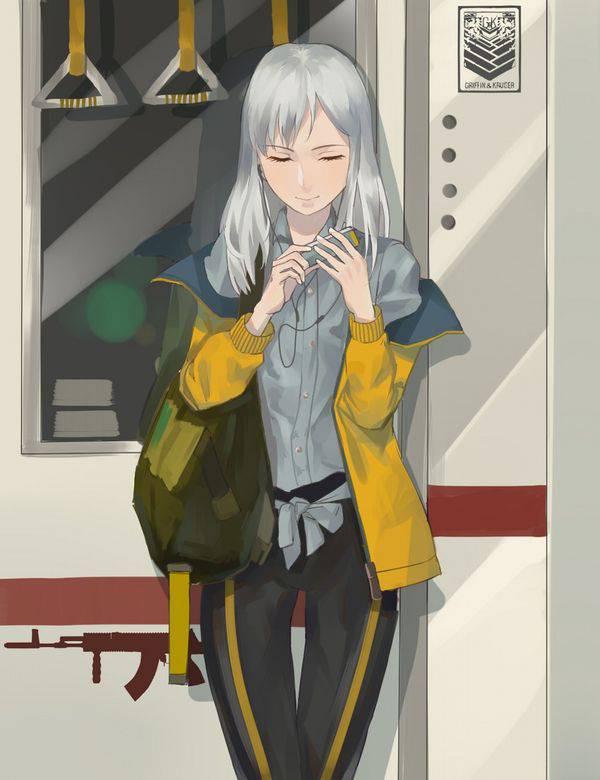 【日常の風景】電車に乗る女子達の二次画像【13】