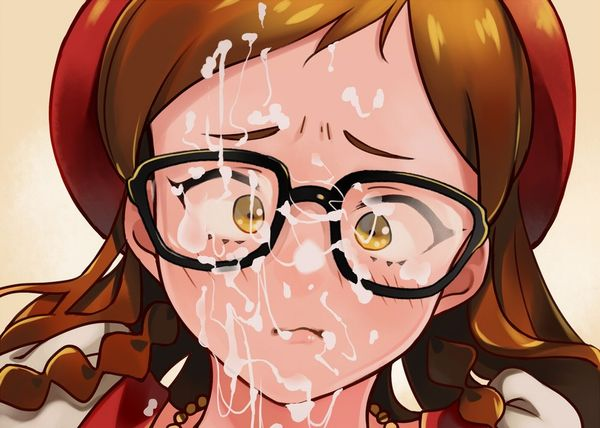 【汁まみれ】ザーメンを大量にぶっかけられた女子達の二次エロ画像【14】
