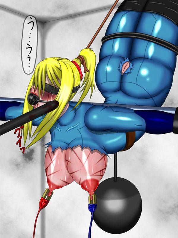 【ドンドンドン鈍器♪】物で殴られる女子達の二次リョナ画像【2】