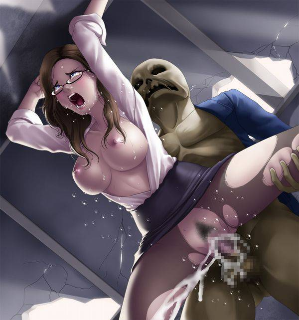 【喰われてる】ゾンビにレイプされてる女子達の二次エロ画像【24】