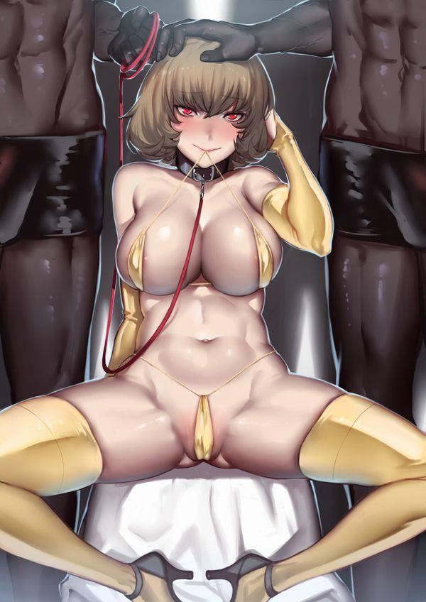 【ゴールドセイント!?】黄金色のビキニを身に纏っている女子達の二次エロ画像【1】