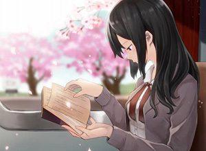 【何読んでるの?】読書を嗜む文学美少女達の二次画像