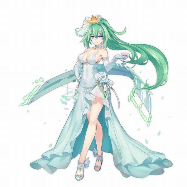 【超次元ゲイムネプテューヌ】グリーンハート(Green Heart)のエロ画像【13】