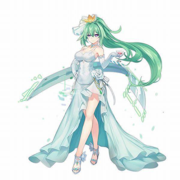 【超次元ゲイムネプテューヌ】グリーンハート(Green Heart)のエロ画像【42】