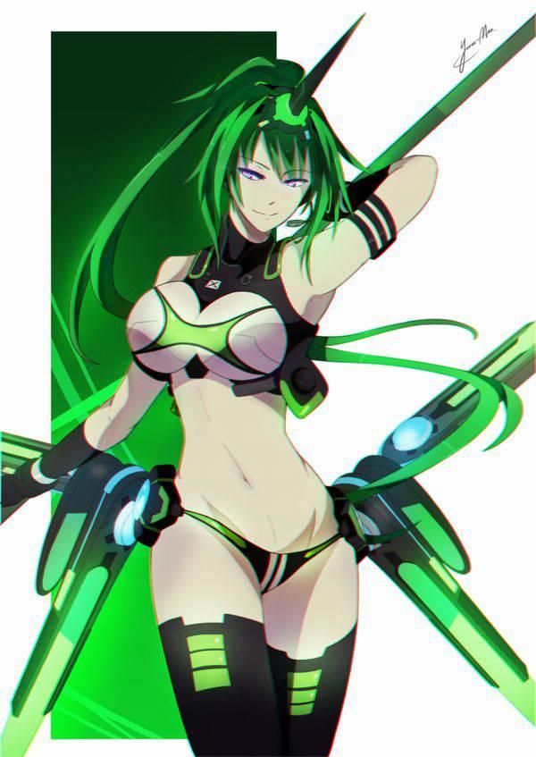 【超次元ゲイムネプテューヌ】グリーンハート(Green Heart)のエロ画像【46】