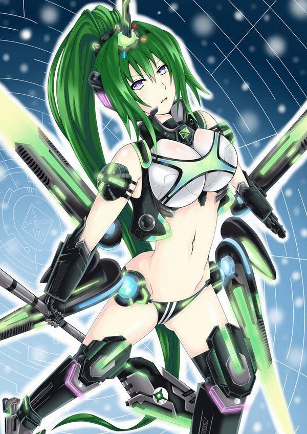 【超次元ゲイムネプテューヌ】グリーンハート(Green Heart)のエロ画像【50】
