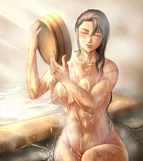 【まるで彫刻のよう】全裸筋肉質女子の二次エロ画像【29】