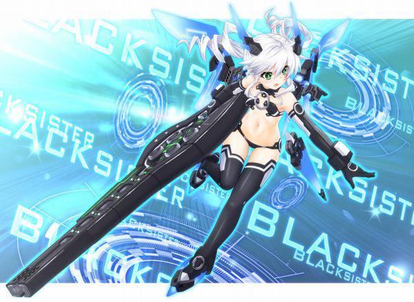 【超次元ゲイムネプテューヌmk2】ブラックシスター(Black Sister)のエロ画像【16】