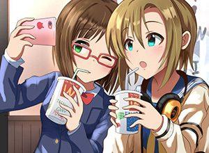 【放課後】ファーストフード店でダベる女子高生達の二次画像