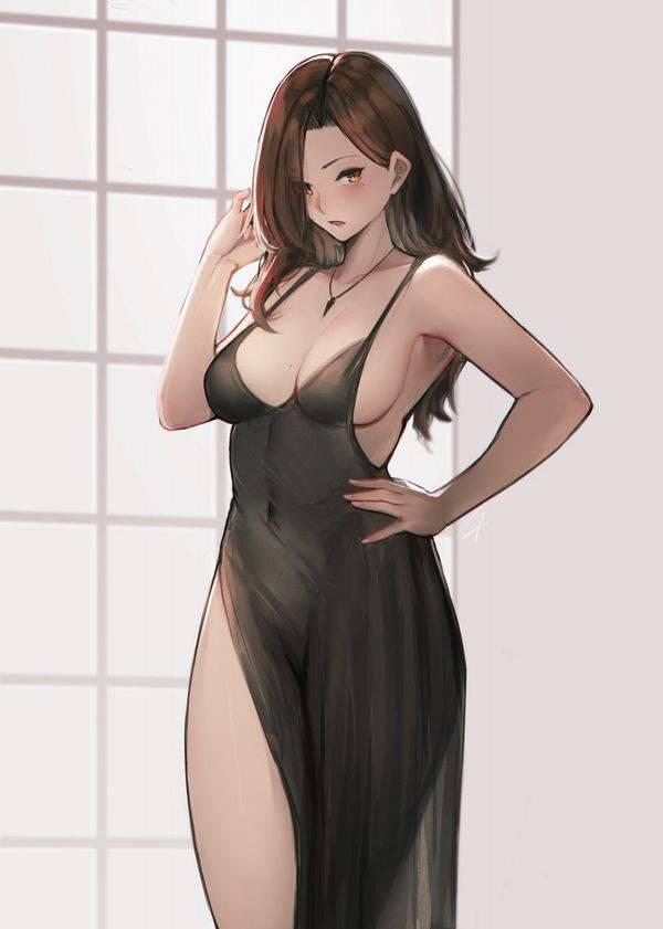 【夏の楽しみ】ノースリーブ女子のさりげない腋チラ二次エロ画像【24】
