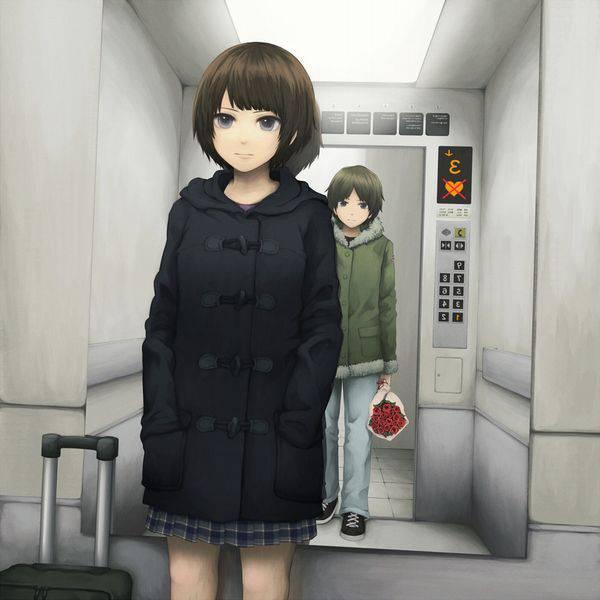 【上へ参ります】エレベーターの二次エロ画像【22】