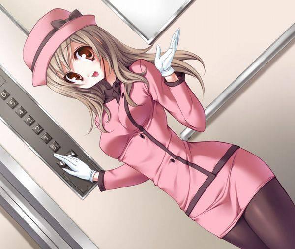 【上へ参ります】エレベーターの二次エロ画像【28】