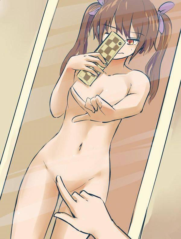 【お風呂のついでに】全裸で自撮りしてる二次エロ画像【17】